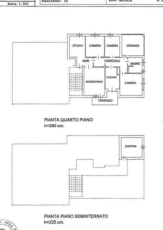 Bellissimo appartamento in condominio signorile studio for Subito it gorizia arredamento